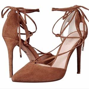 NEW Raye Tamrin High Heel Ankle Wrap Pumps